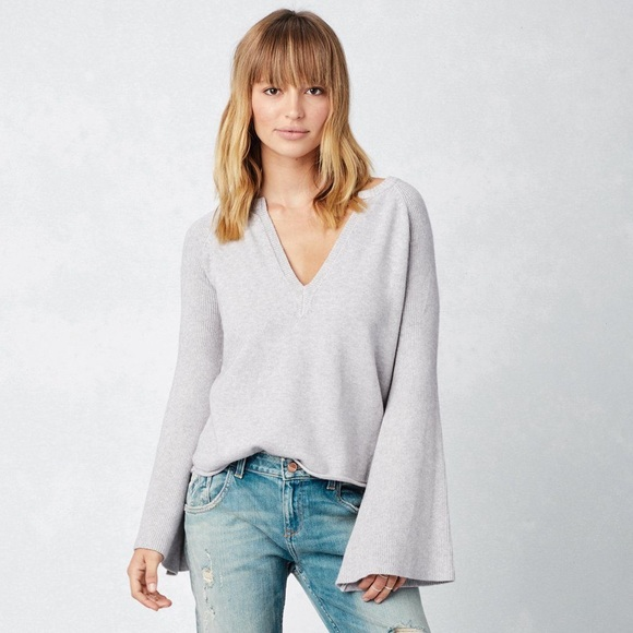 Love Stitch Sweaters - Bell sleeve sweater